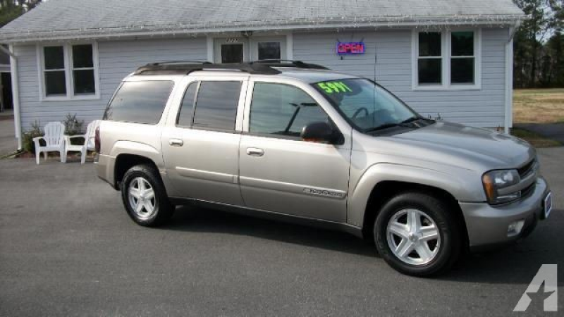 2002 Chevrolet TrailBlazer EXT LT for sale in Yorktown, Virginia