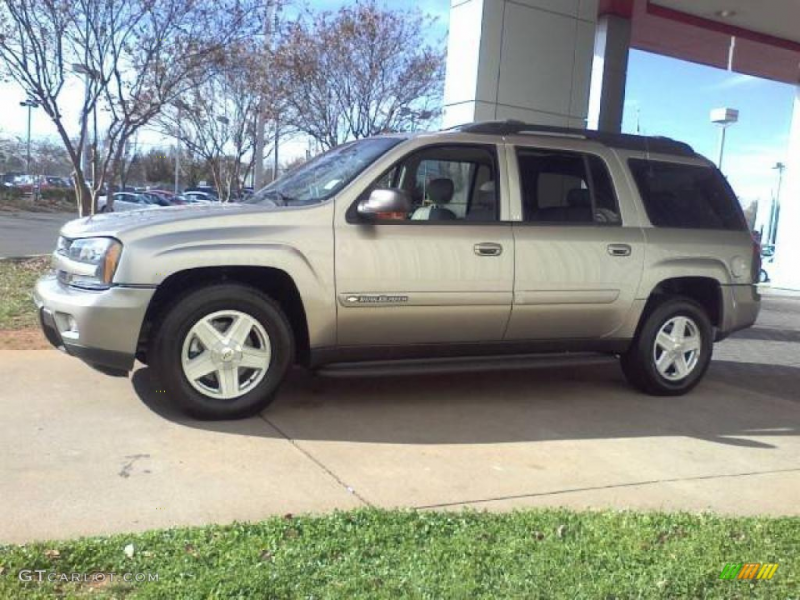 Light Pewter Metallic 2002 Chevrolet TrailBlazer EXT LT 4x4 Exterior ...