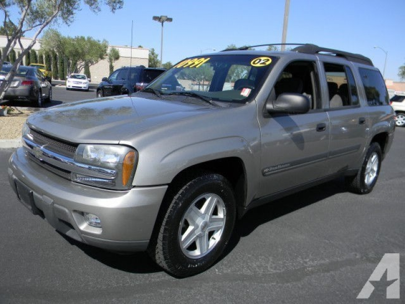 2002 Chevrolet TrailBlazer EXT LT for sale in Las Vegas, Nevada