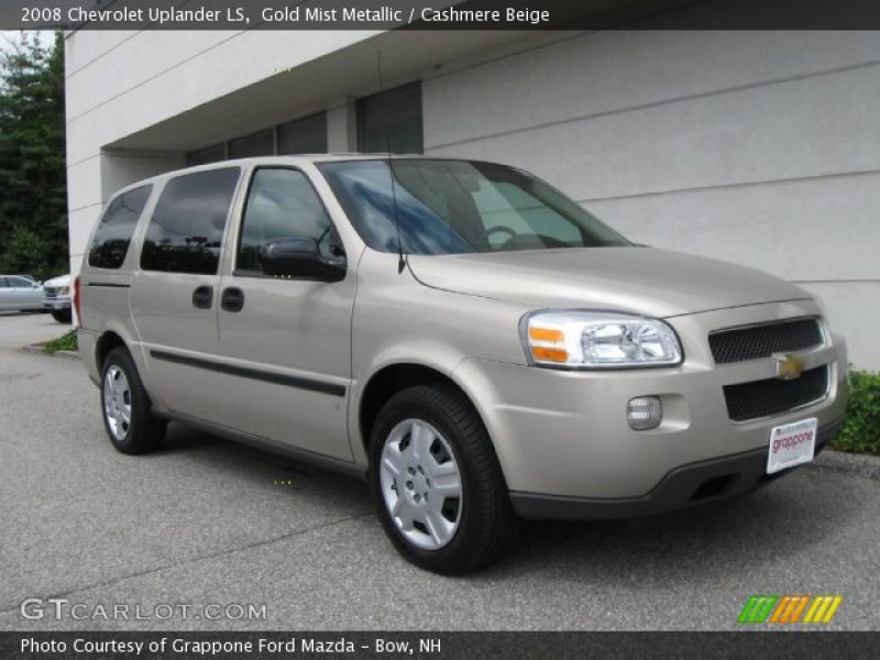 2008 Chevrolet Uplander LS in Gold Mist Metallic. Click to see large ...