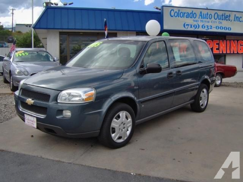 2006 Chevrolet Uplander LS for sale in Colorado Springs, Colorado