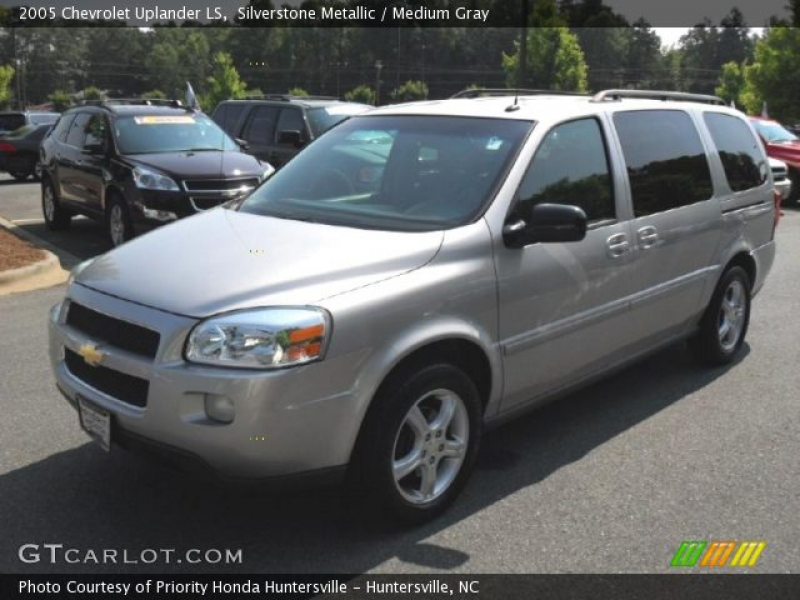 2005 Chevrolet Uplander LS in Silverstone Metallic. Click to see large ...