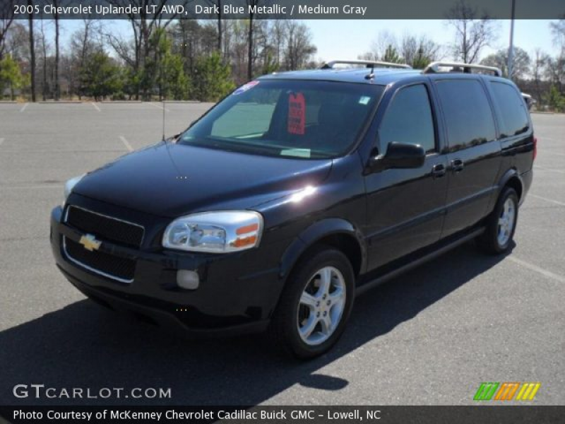 2005 Chevrolet Uplander LT AWD in Dark Blue Metallic. Click to see ...