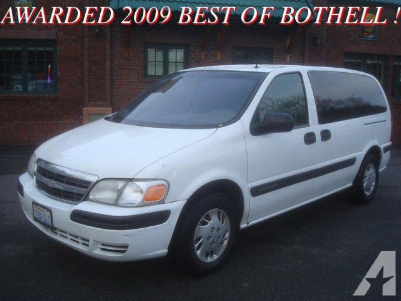 2001 Chevrolet Venture for sale in Bothell, Washington