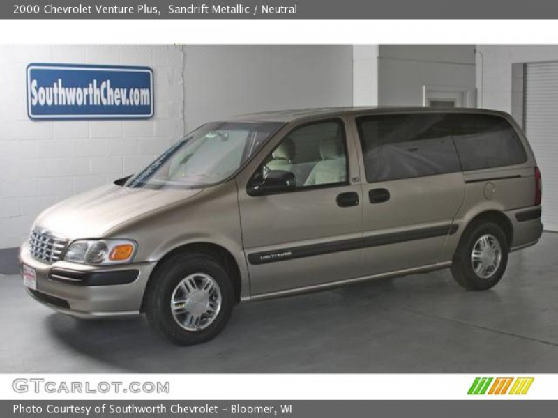 2000 Chevrolet Venture Plus in Sandrift Metallic. Click to see large ...