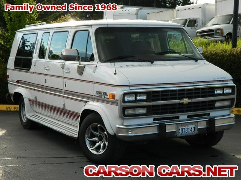 cars chevrolet van 1993 g20