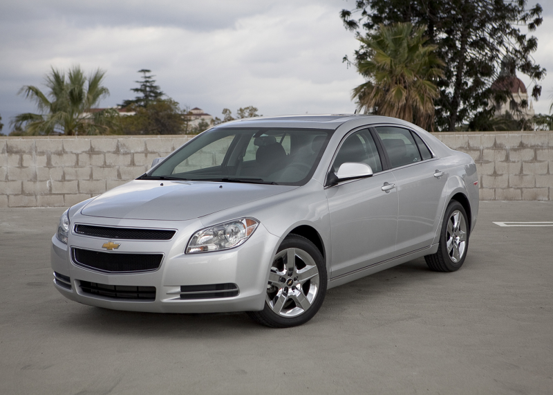 The Chevrolet Malibu can't shake its rental-car shackles.