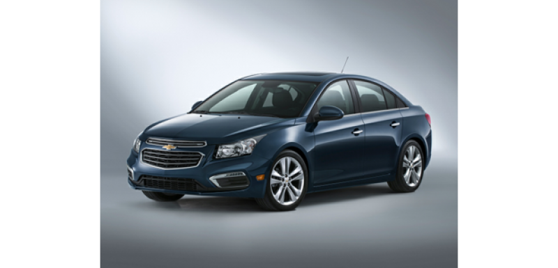 Available in 10 styles: Cruze 4dr Sedan shown