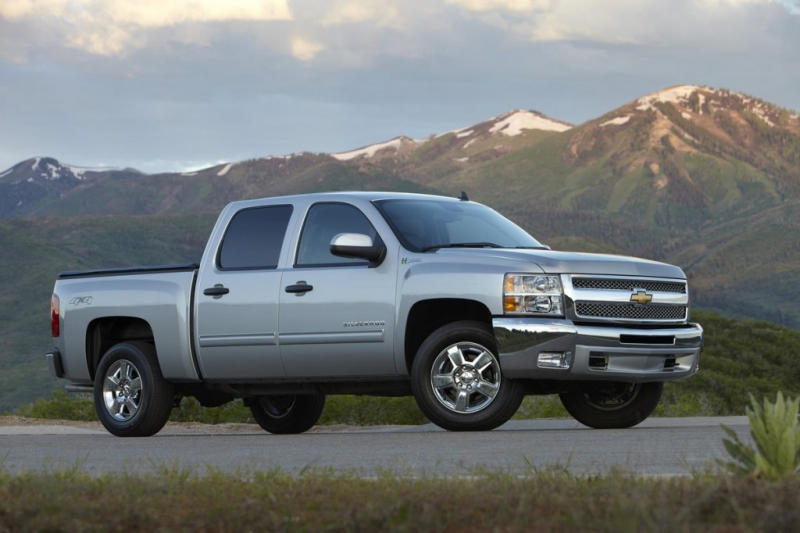 2013 Chevrolet Silverado 1500 Hybrid - Photo Gallery