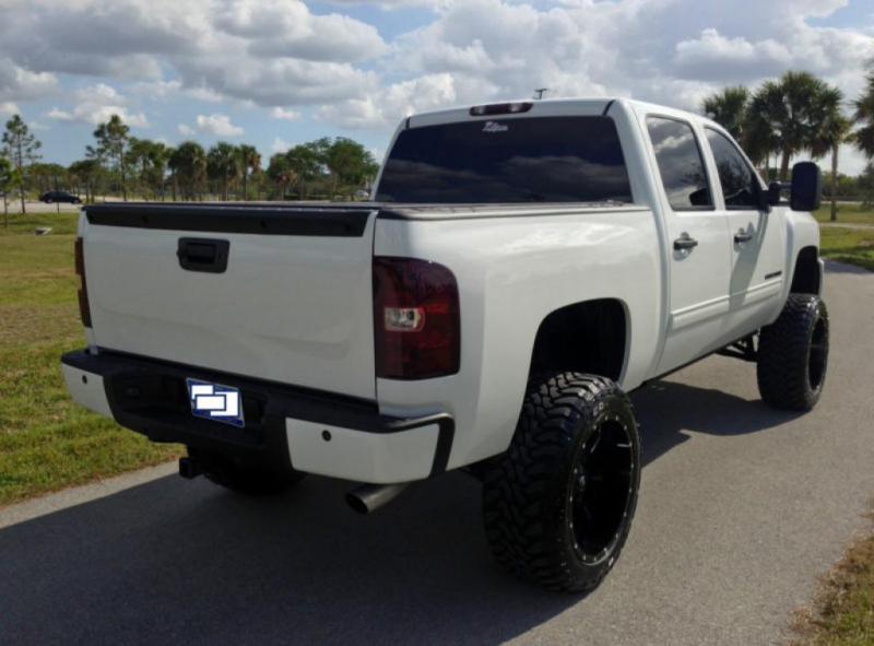 2012 Chevrolet Silverado 1500 - Storm Trooper White with Black