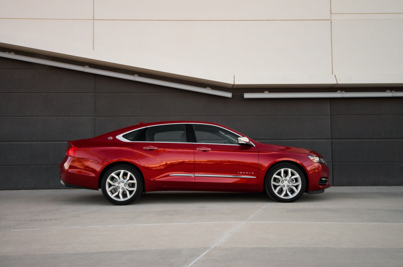 ... Canadian Production of 2014 Chevrolet Impala, Equinox Photo Gallery