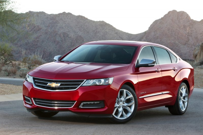 2014 Chevy Impala First Drive Review: The big comfy American sedan ...