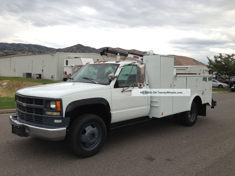1995 Chevrolet 3500 Utility / Service Trucks photo 8