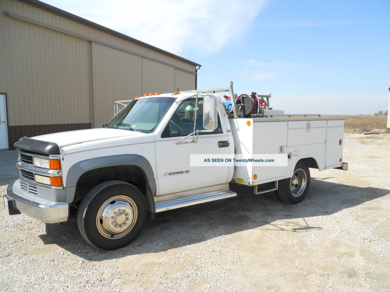 1995 Chevrolet 3500 Hd Utility / Service Trucks photo