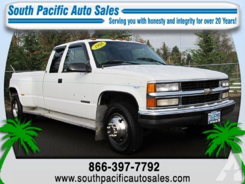 1995 Chevrolet 3500 Silverado for sale in Albany, Oregon