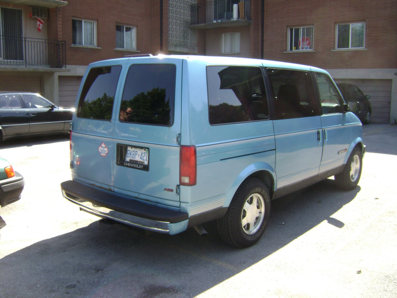 Picture of 1994 Chevrolet Astro 3 Dr STD Passenger Van Extended ...