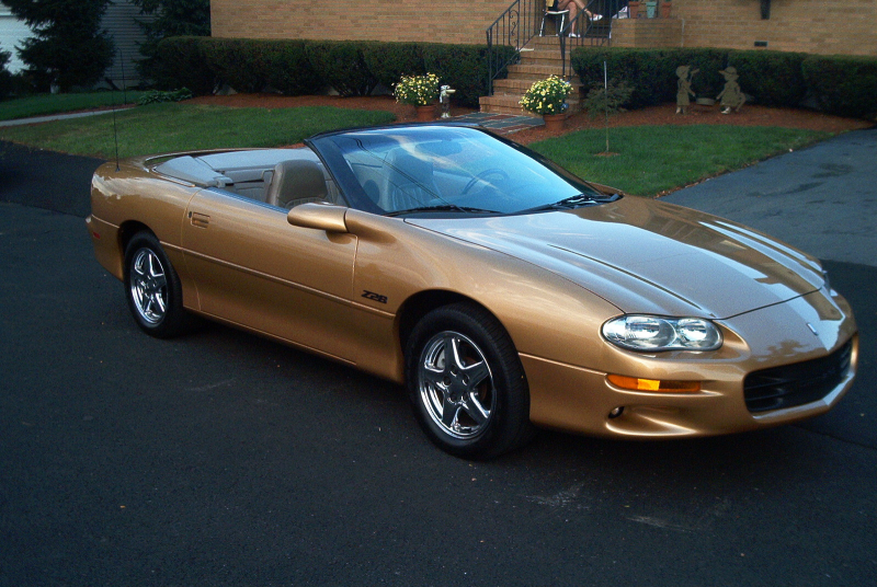 1998 Chevrolet Camaro Z28 Convertible, Picture of 1998 Chevrolet ...