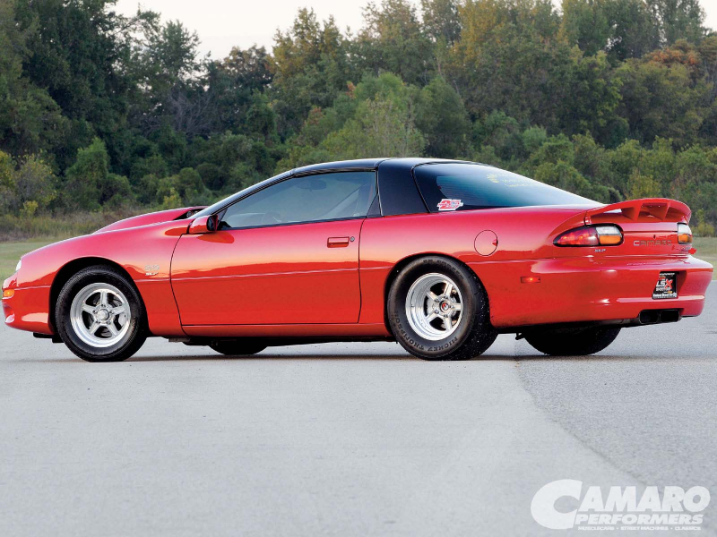 2002 Chevy Camaro Ss Wheels