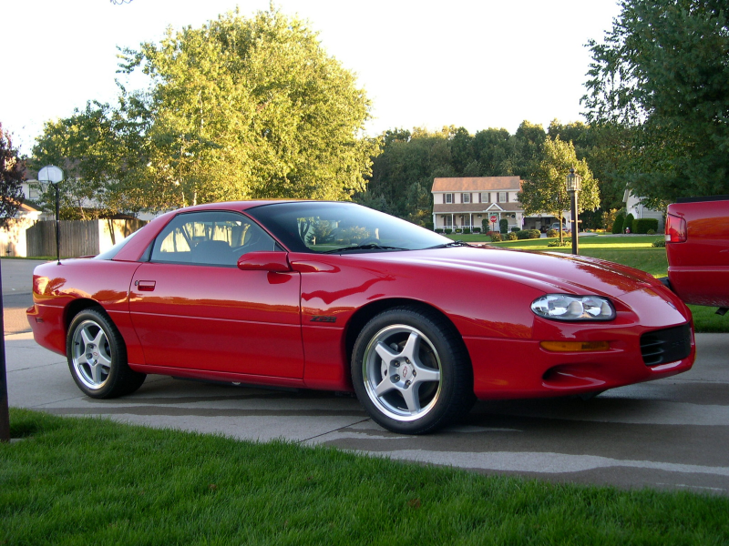 Picture of 2002 Chevrolet Camaro Z28 Coupe, exterior