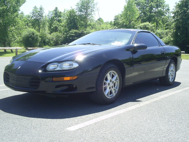 2002 Chevrolet Camaro Black/V6/40+Pics/35th Anniv Ed - MINT ...