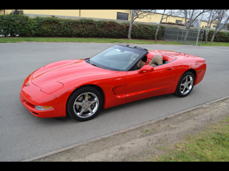 2001 Chevrolet Corvette Convertible Torch Red