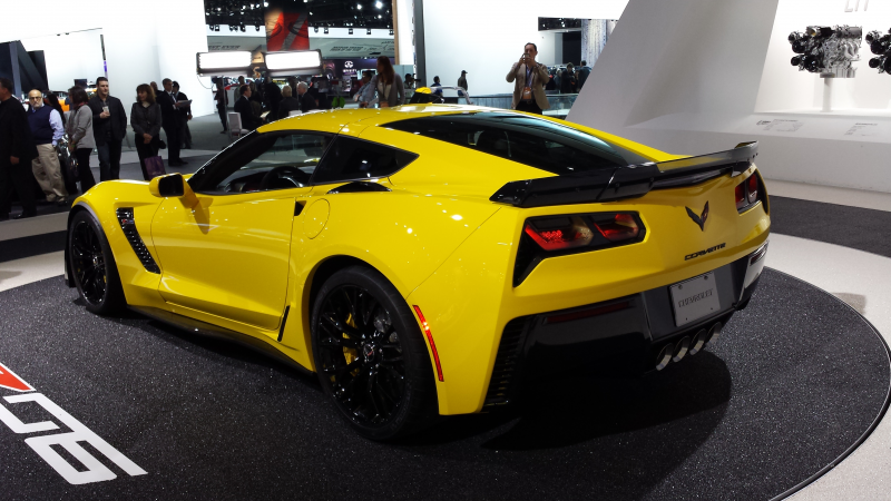 2015 Corvette Stingray Z06 photos