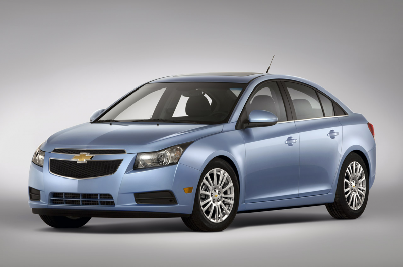 GM has some good news to announce this morning. The 2011 Chevy Cruze ...
