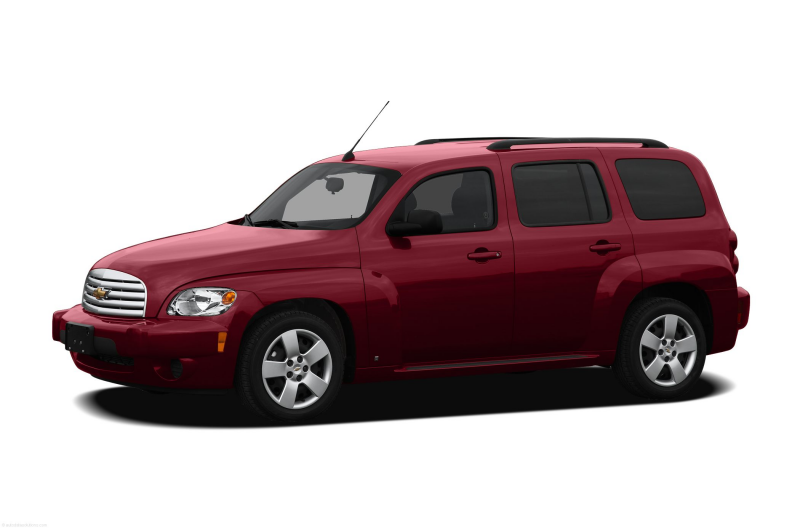2010 Chevrolet HHR Wagon LS Sport Utility Exterior Front Side View