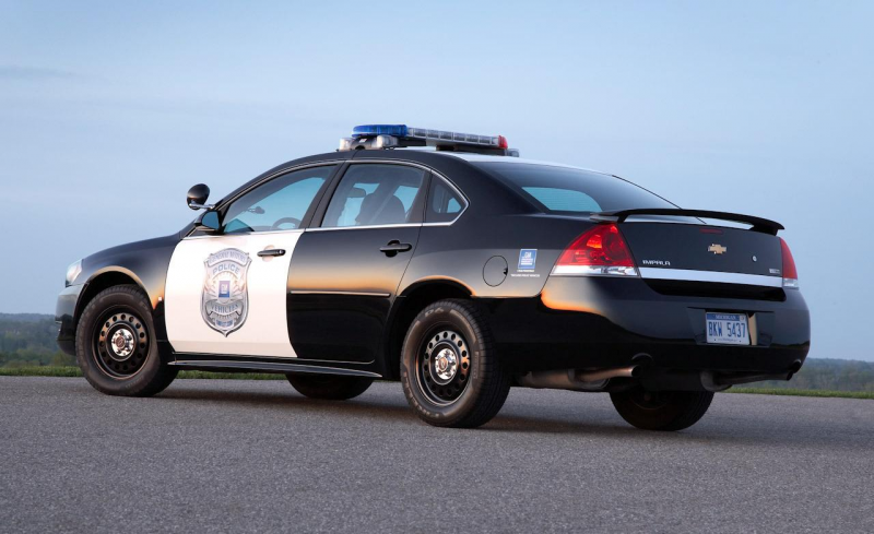 2010 Chevrolet Impala Police Patrol Vehicle (PPV)