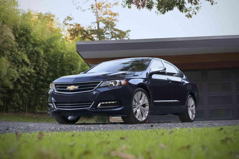Stop-start standard in four-cylinder 2015 Chevrolet Impala
