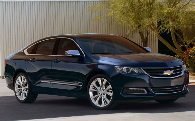 2014 Chevrolet Impala Front Three Quarter Passenger Side