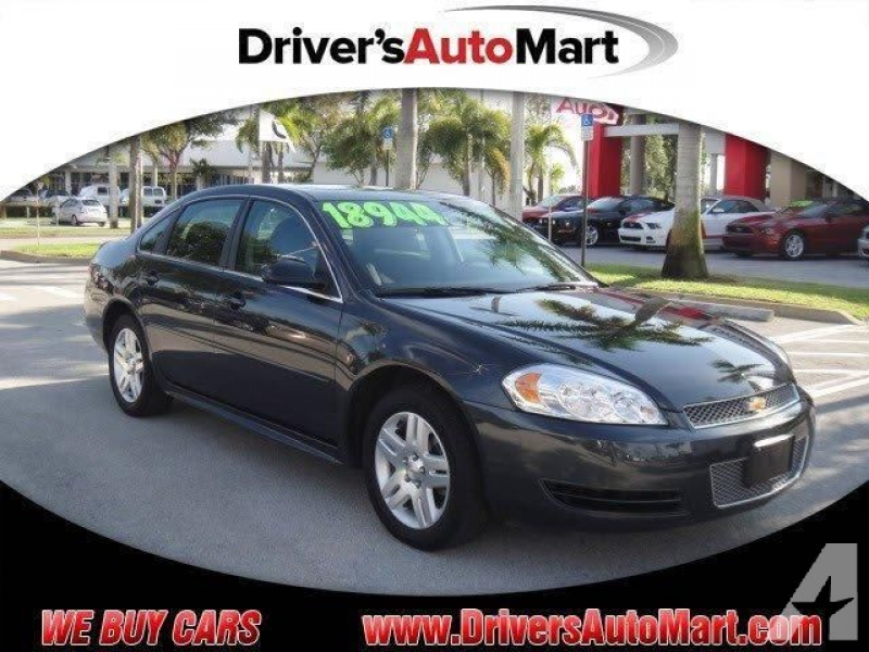 2014 Chevrolet Impala Limited LT for sale in Cooper City, Florida