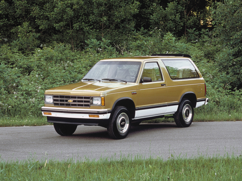 Chevrolet S-10 Blazer 3-door '1983–94