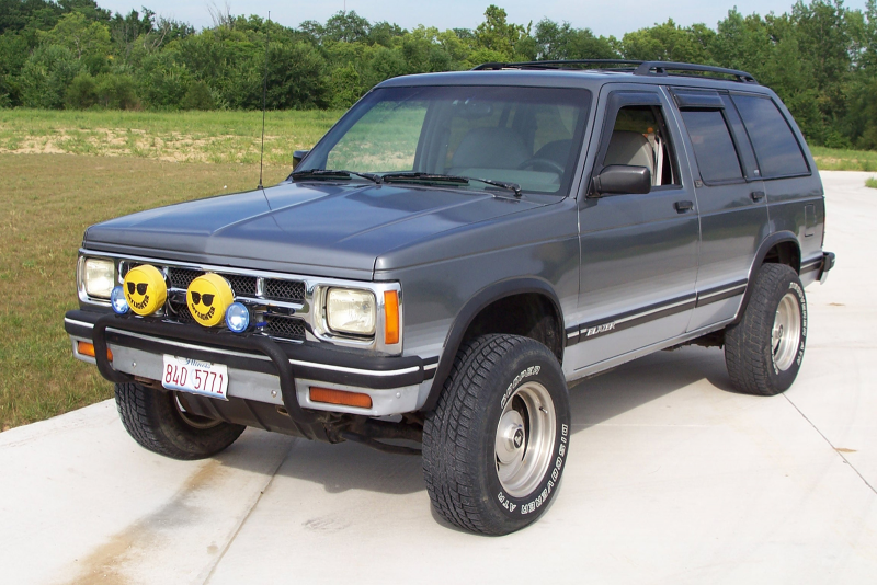 Picture of 1994 Chevrolet S-10 Blazer 4 Dr Tahoe LT 4WD SUV, exterior