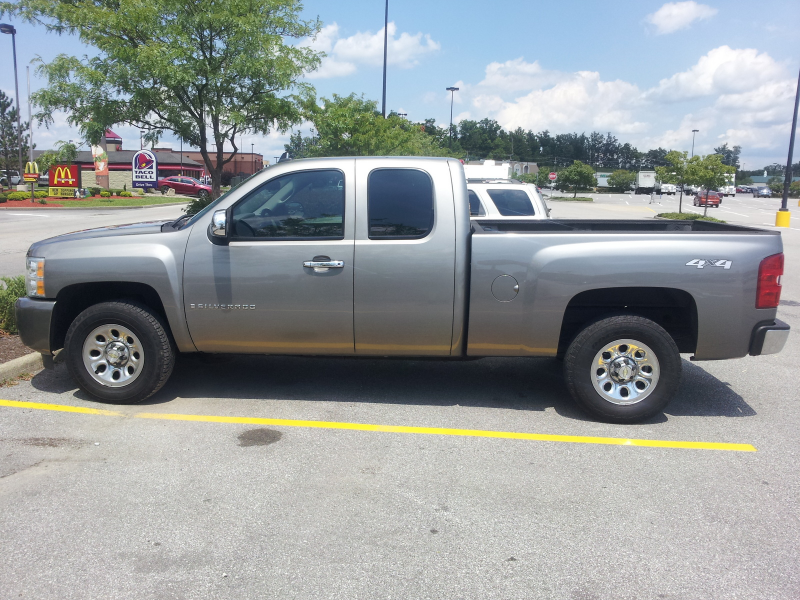 Picture of 2009 Chevrolet Silverado 1500 Work Truck Ext. Cab 4WD ...