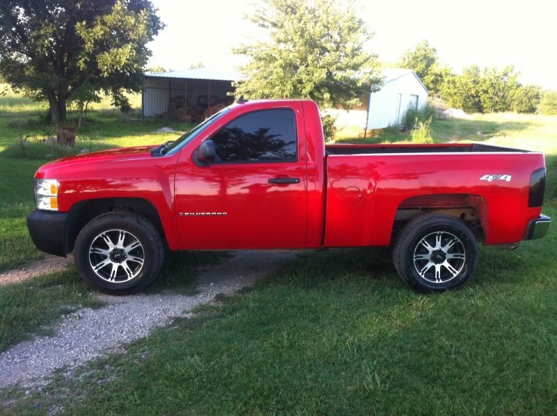 Picture of 2009 Chevrolet Silverado 1500 Work Truck 4WD, exterior