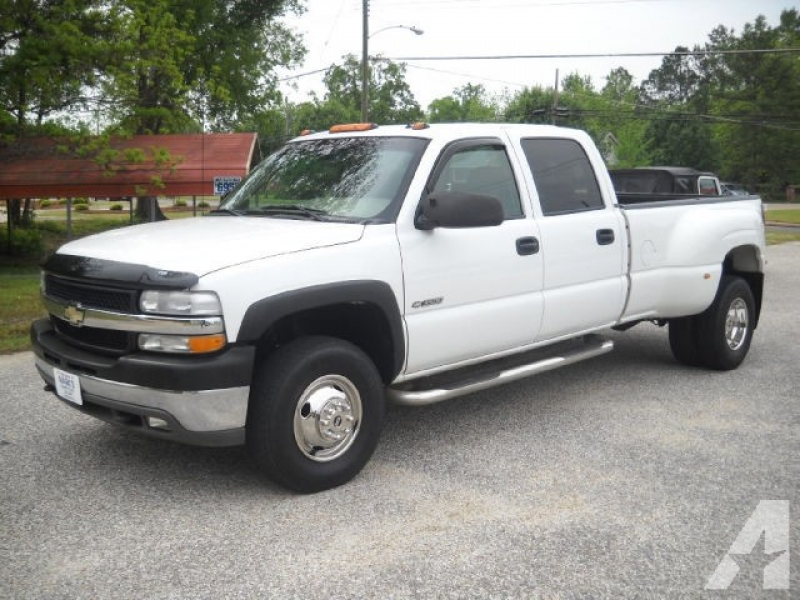 2001 Chevrolet Silverado 3500 LT Crew Cab for sale in Tallassee ...