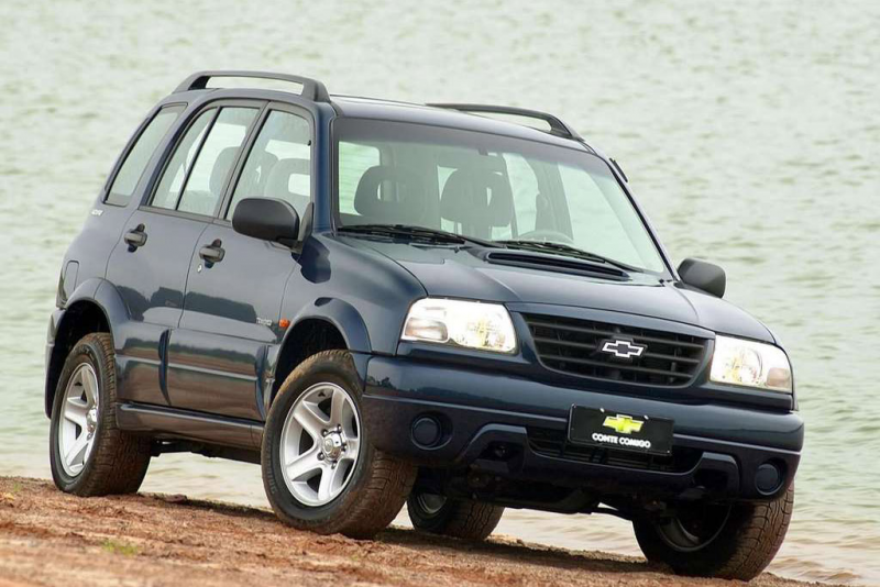 Formerly known as the Geo Tracker, Chevrolet Tracker is a small sport ...