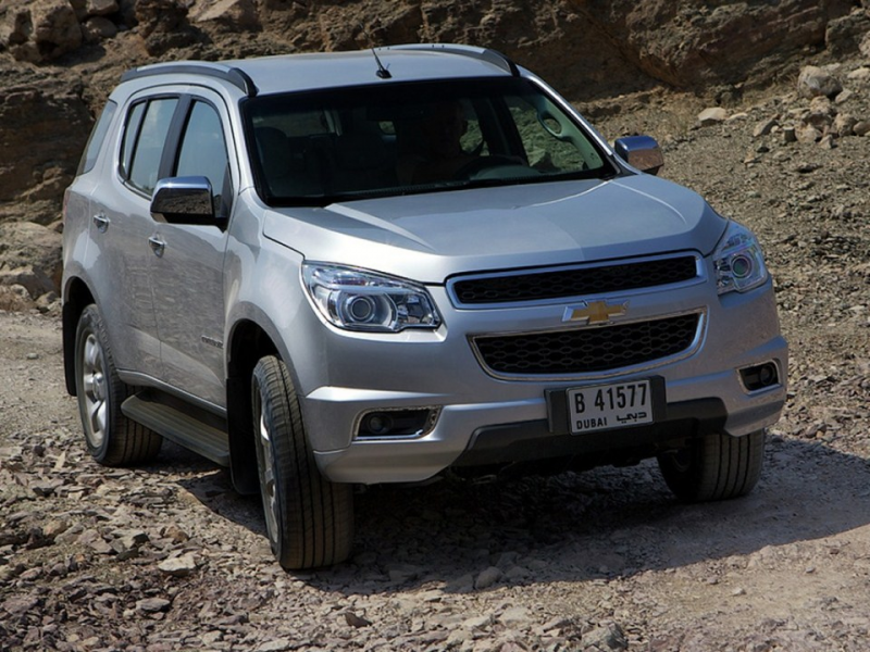 2014 Chevrolet Trailblazer Wallpapers