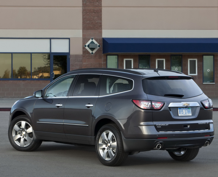 2013 Chevrolet Traverse Facelift Revealed, Debuts New Face for Chevy's ...
