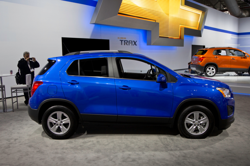 2015 Chevrolet Trax Photo Gallery