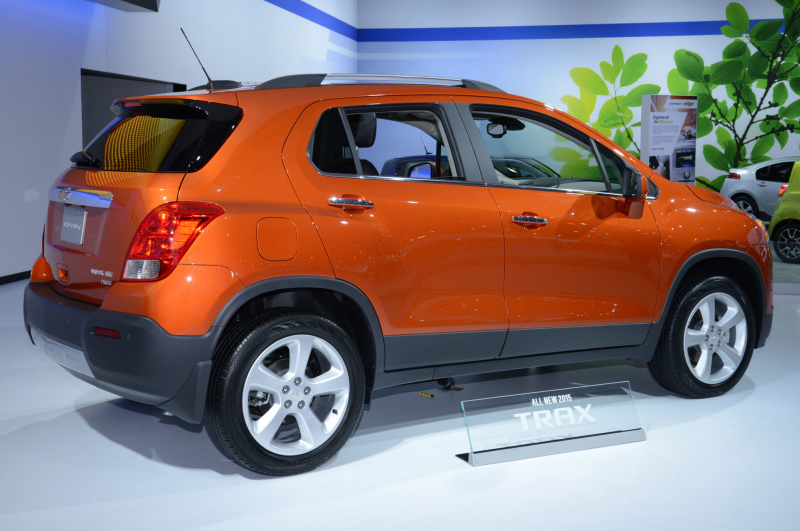 2015 Chevrolet Trax Rear Side View