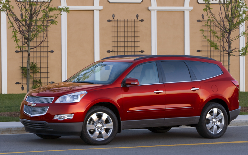 2012 Chevrolet Traverse Front Three Quarter