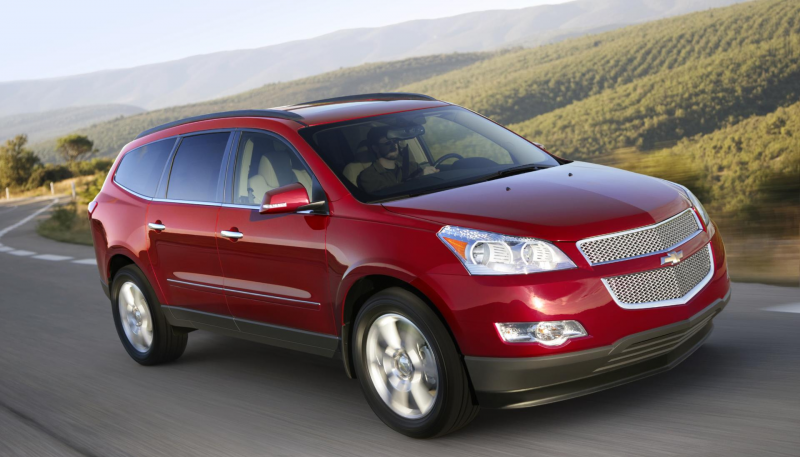 GM recalls 50,000 Chevy Traverse, GMC Acadia and Buick Enclave ...