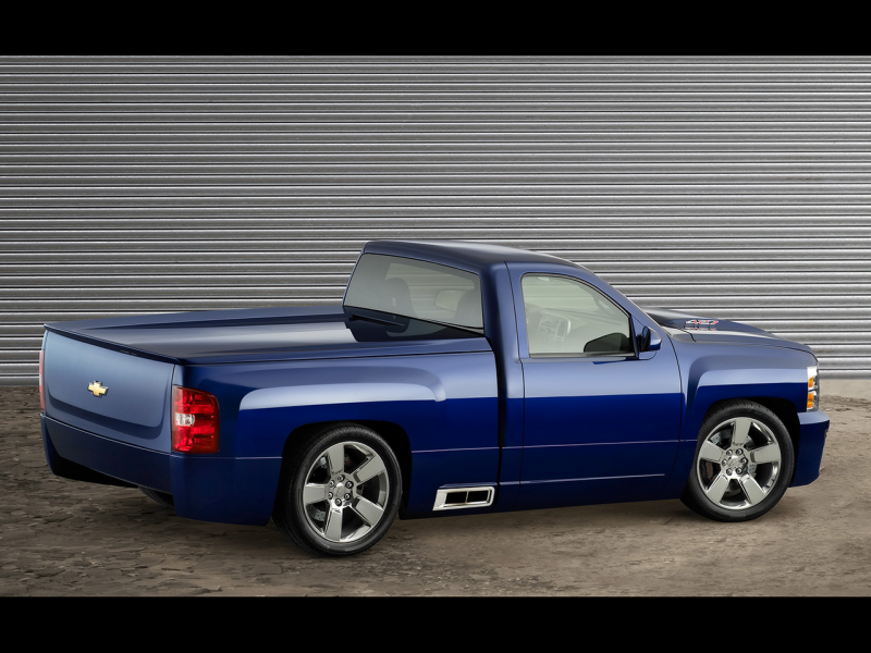 2006 Chevrolet Silverado 427 - Rear And Side - 1280x960 - Wallpaper