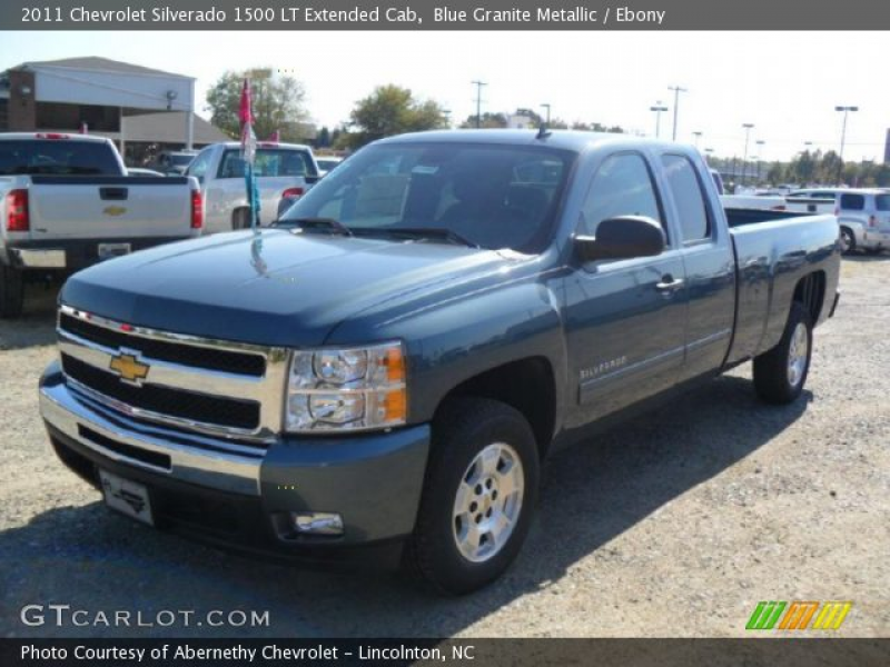 2011 Chevrolet Silverado 1500 LT Extended Cab in Blue Granite Metallic ...