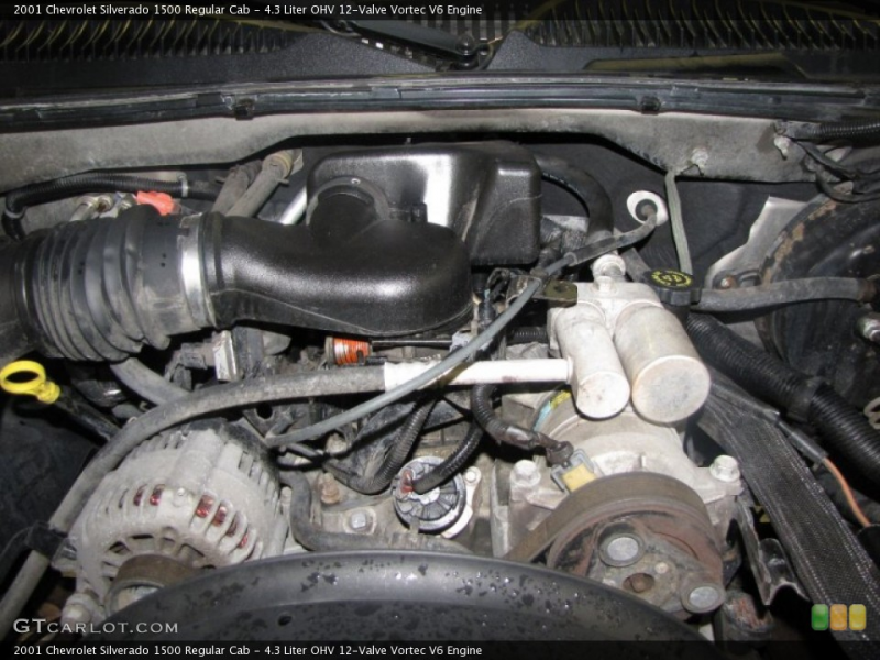 Liter OHV 12-Valve Vortec V6 Engine for the 2001 Chevrolet ...