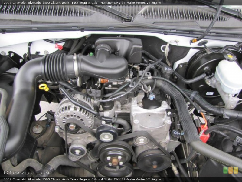 Liter OHV 12-Valve Vortec V6 Engine for the 2007 Chevrolet ...