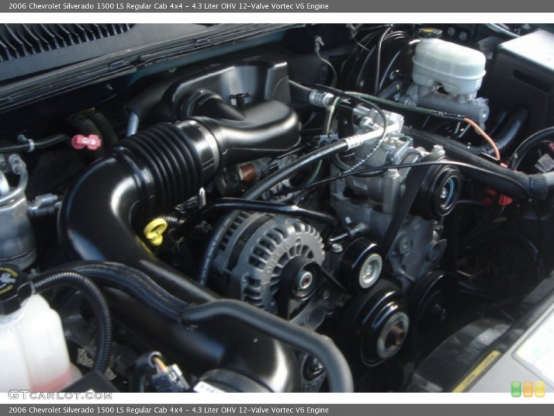 Liter OHV 12-Valve Vortec V6 Engine for the 2006 Chevrolet ...