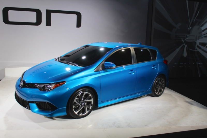 2016 Scion iM - 2015 NY Auto Show live photos (preview event)